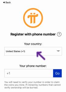 Hướng dẫn đăng ký pi network
