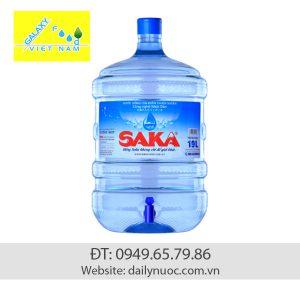 Nước Saka bình 19 lít