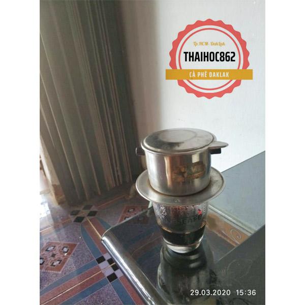 Cafe nguyên chất robusta Thaihoc862