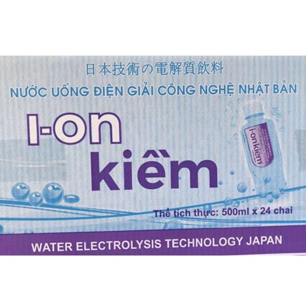 Nước ion kiềm trao đổi bằng Pi