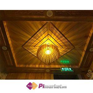 Đèn gỗ đèn cánh buồm trao đổi bằng Pi