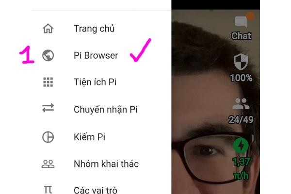 Hướng dẫn tạo ví Pi trên điện thoại